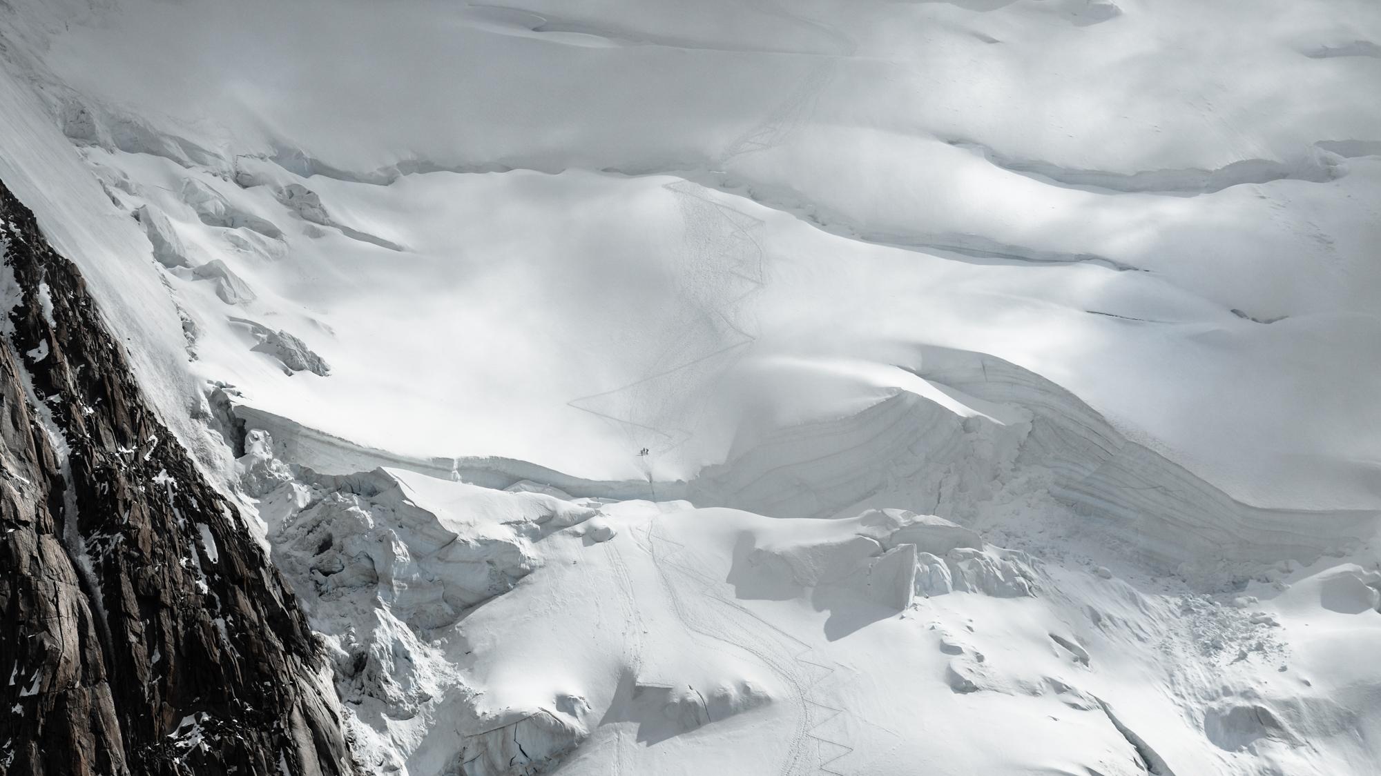 Glacier, mont Blanc, mounrains